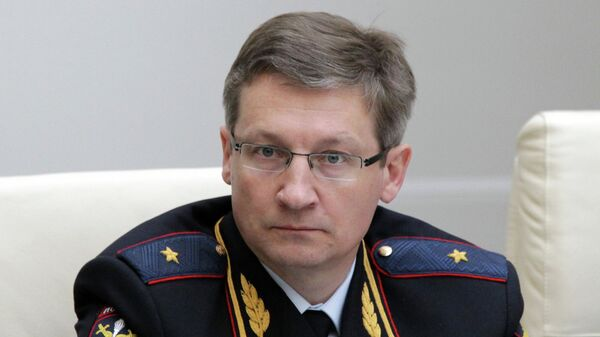 Представление нового главы МВД Татарстана Артема Хохорина