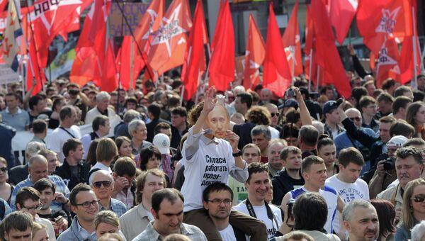 Марш миллионов в Москве. Архив