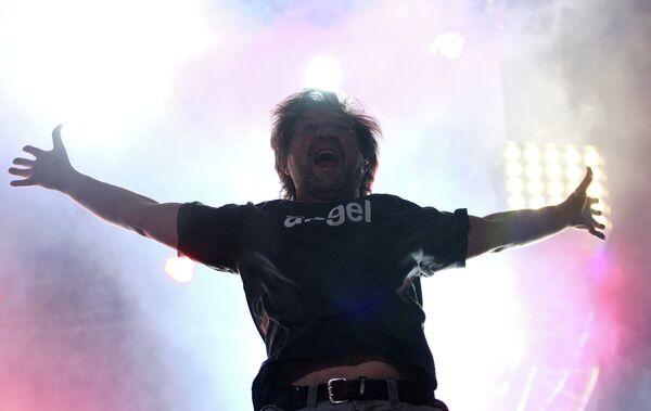 Ю.Шевчук на II международном музыкальном фестивале Сотворение Мира в Казани