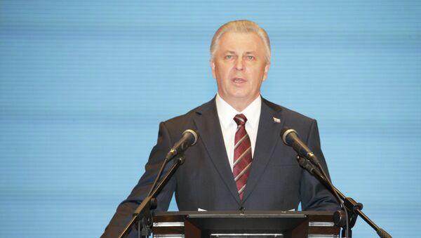 Вячеслав Наговицын на церемонии вступления в должность Главы Бурятии