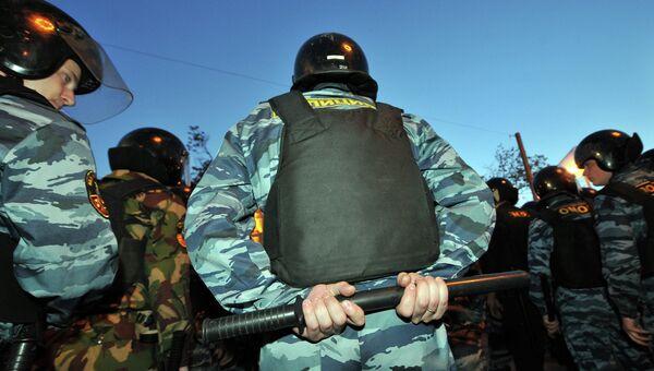 Полицейские задержали около 50 человек на акциях в Москве
