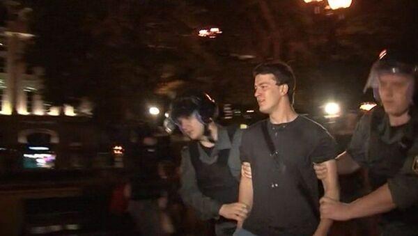 Разгон лагеря оппозиции: как полиция пресекла акцию на Кудринской площади