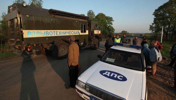 Взрывы боеприпасов на военном складе в Приморском крае