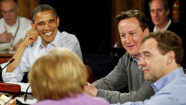 Саммит G8 в Кэмп-Дэвиде в США