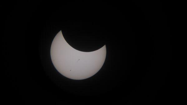 Солнечное затмение в Приморье