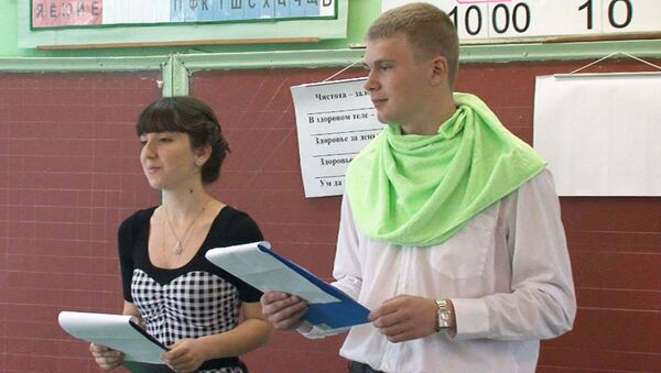Школьники-волонтеры ведут у первоклашек уроки о здоровом образе жизни