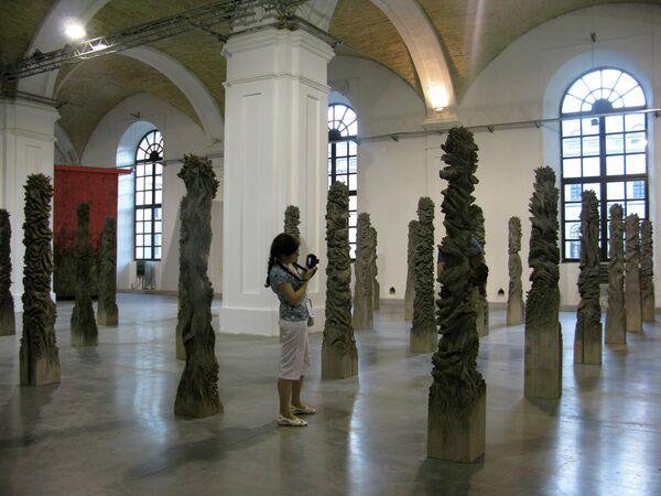 Проект японского художника Тоя Шигео Обгорелые деревья