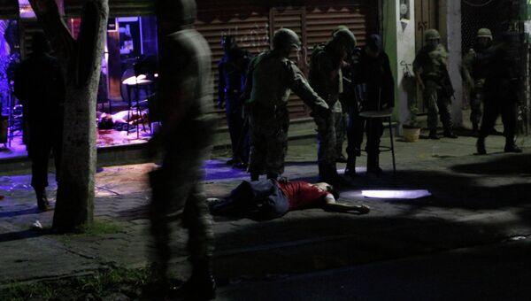 Столкновения между бандами наркоторговцев в мексиканском штате Морелос