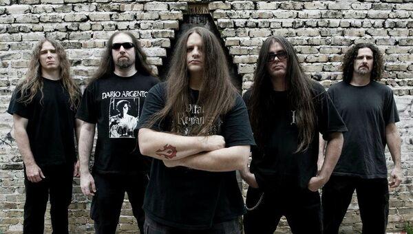 Американская группа Cannibal Corpse, архивное фото