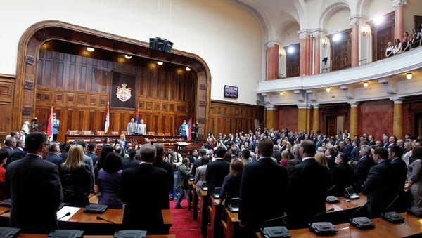 Депутаты нового созыва Скупщины (парламента) Сербии
