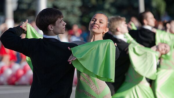 Танцевальный бал в Курске