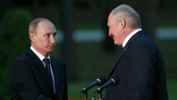 Визит Владимира Путина в Минск