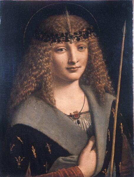 Репродукция картины Святой Себастьян