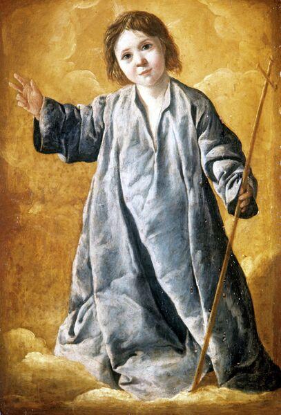 Картина Младенец Христос