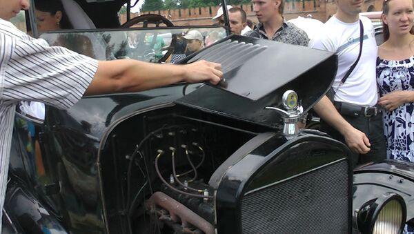 Начинку 88-летнего Ford показали на фестивале Автострада в Туле