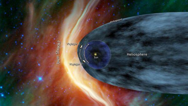 Вояджеры у границы Солнечной системы