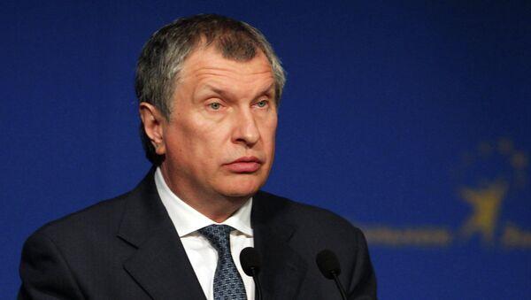 Президент, председатель правления ОАО НК Роснефть Игорь Сечин