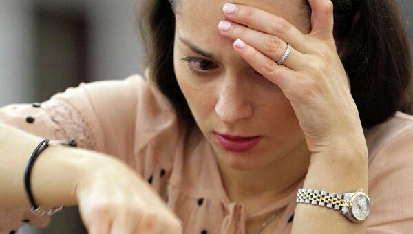 Российская шахматистка Александра Костенюк, архивное фото