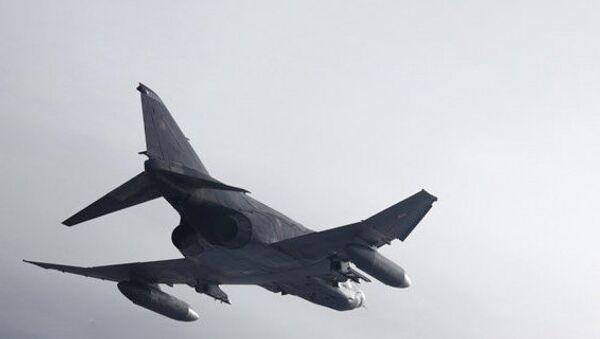 Истребитель RF-4E ВВС Турции