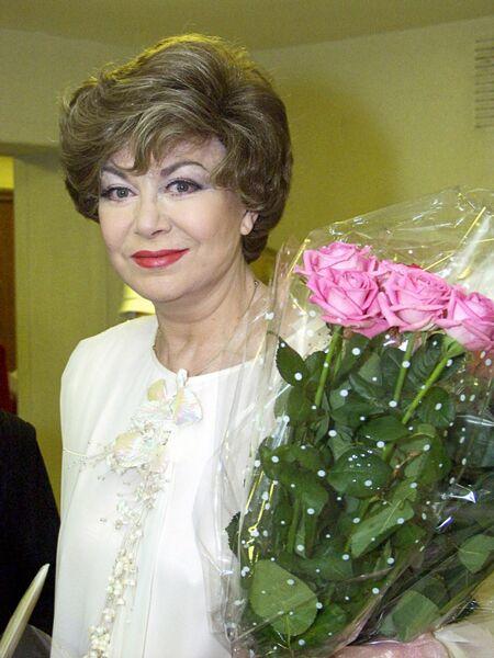Певица Эдита Пьеха