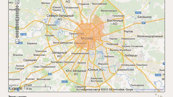 Как росла Москва