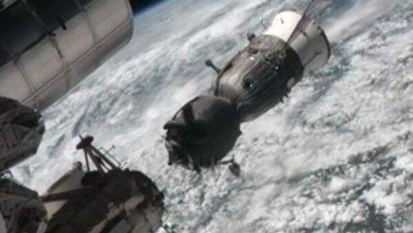 Корабль Союз ТМА-03М отстыковался от МКС