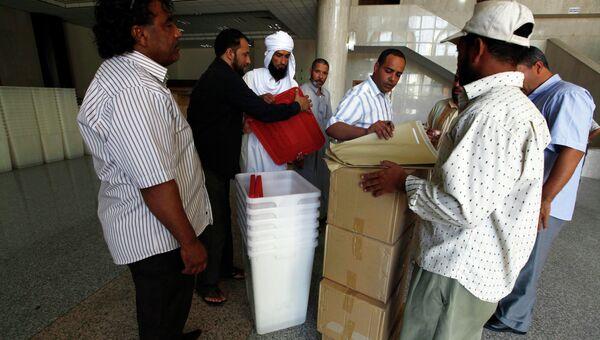 Подготовка к парламентским выборам в Ливии