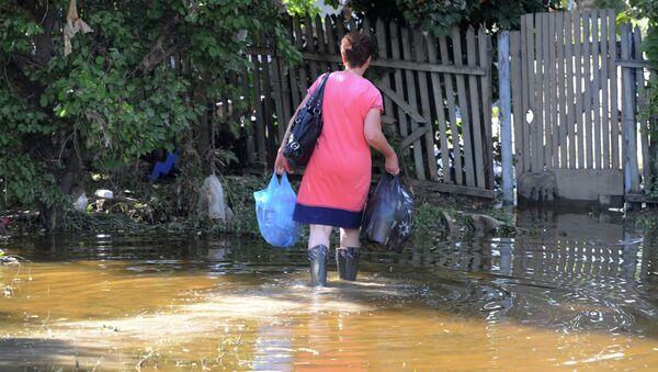Последствия наводнения в Краснодарском крае. Архив