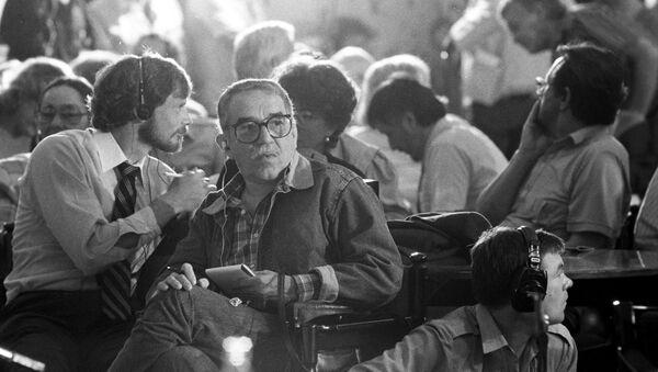 Габриэль Гарсиа Маркес, архивное фото