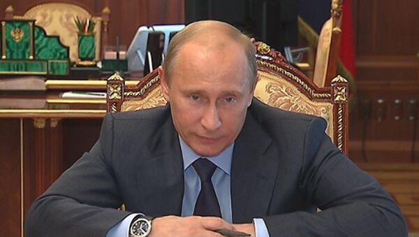 Не нужно допускать юридическую грязь и неточность - Путин о законе об НКО