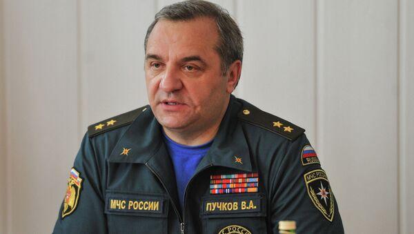 Глава МЧС РФ Владимир Пучков. Архив
