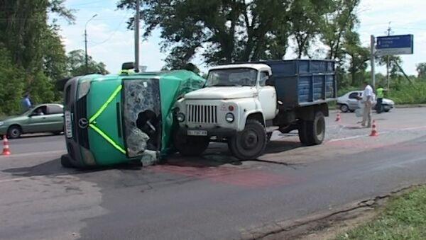 Свадебный кортеж с россиянами разбился под Полтавой. Кадры с места ДТП