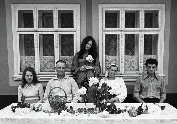Ротару в кругу семьи