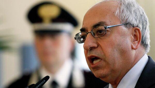 Глава оппозиционного Сирийского национального совета Абдельбасед Сейда