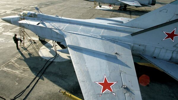 Истребители МиГ-31 на Камчатке. Архивное фото