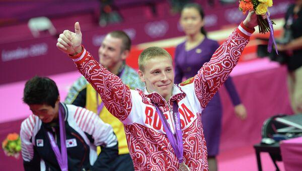 ОИ - 2012. Спортивная гимнастика. Мужчины. Опорный прыжок