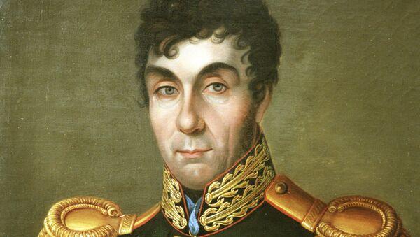 Портрет графа Алексея Андреевича Аракчеева, военного и государственного деятеля, коменданта Санкт-Петербурга