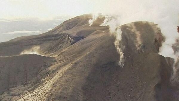 Извержение вулкана, у подножия которого снимали Властелина колец