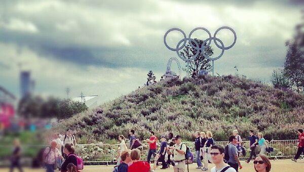 Лондон Олимпиады прогулка ты - репортер