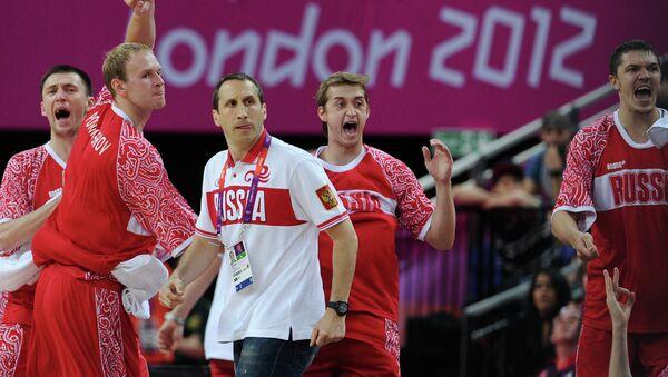 ОИ - 2012. Баскетбол. Мужчины. Матч Испания – Россия