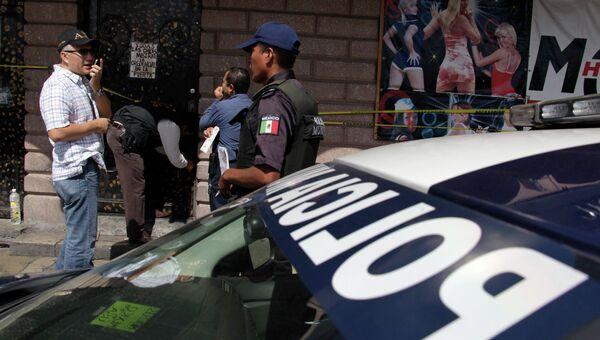 Полицейские в Мексике. Архивное фото