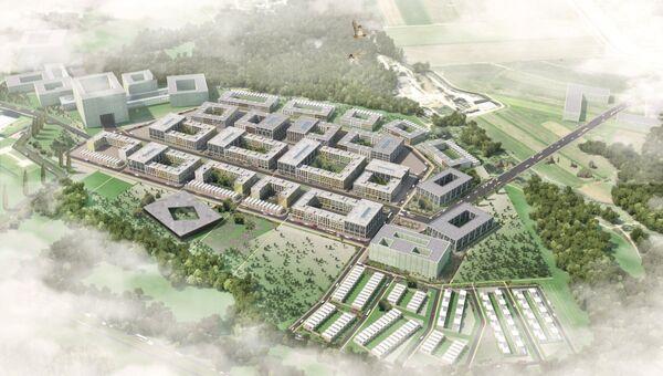 Проект планировки района «Южный» (D-1) инновационного центра «Сколково»