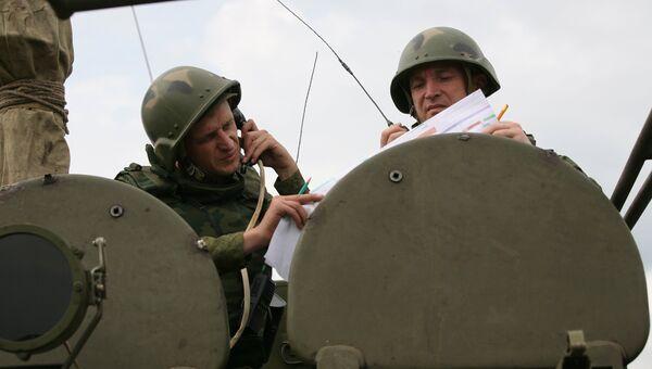 Тактические учения. Архивное фото