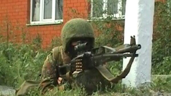 Спецоперация по уничтожению боевиков в Ингушетии. Оперативные кадры