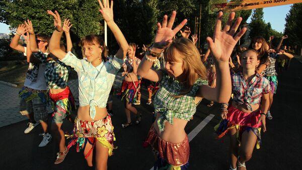 Фестиваль Союзного государства «Творчество юных» в Анапе