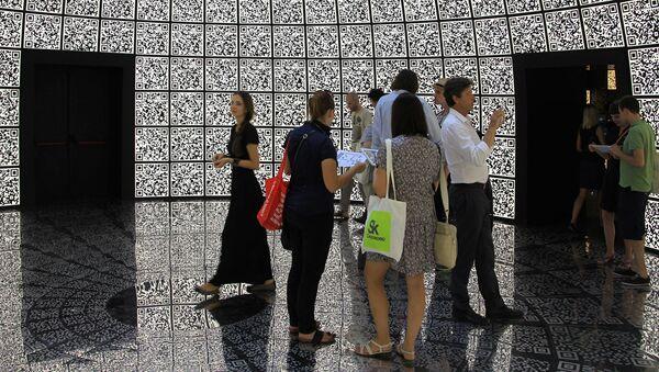Павильон России на архитектурной биеннале в Венеции. Архивное фото