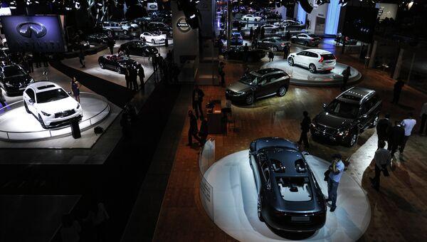 Московский Международный Автомобильный Салон. Архивное фото