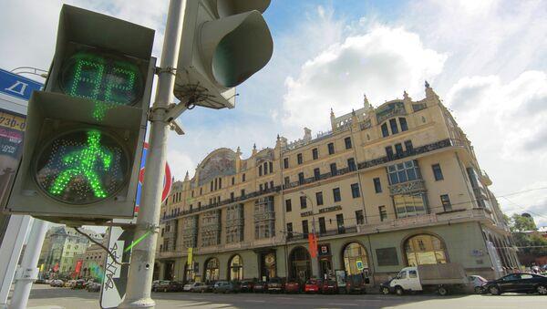 Отель Метрополь в Москве. Архивное фото