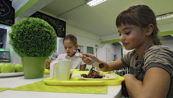 Столовая будущего в московской школе