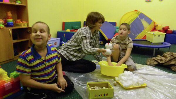 Центр для детей-аутистов Синяя птица в Сыктывкаре. Архив